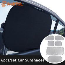 Partol Car Windshield Cover Automobile Sunshade Side Shield Windshield Visor Cover Summer Front Rear Window Windscreen Cover
