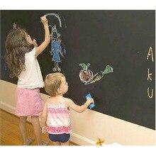 Wall Stickers Wallpaper Chalkboard Kids Room Decoration Decorative Blackboard Sticking Black Wall Kids Paint Slate