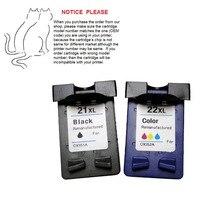 2 шт. совместимый картридж для hp21 HP 21 C9351A hp F380 F2120 F2180 F2280 F2179 F4180 3910 HP4311 F300, HP1410