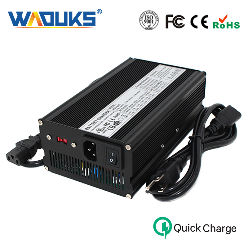 48V 9A Charger 55 2V Lead acid Battery Smart Charger Aluminum shell With fan Battery pack