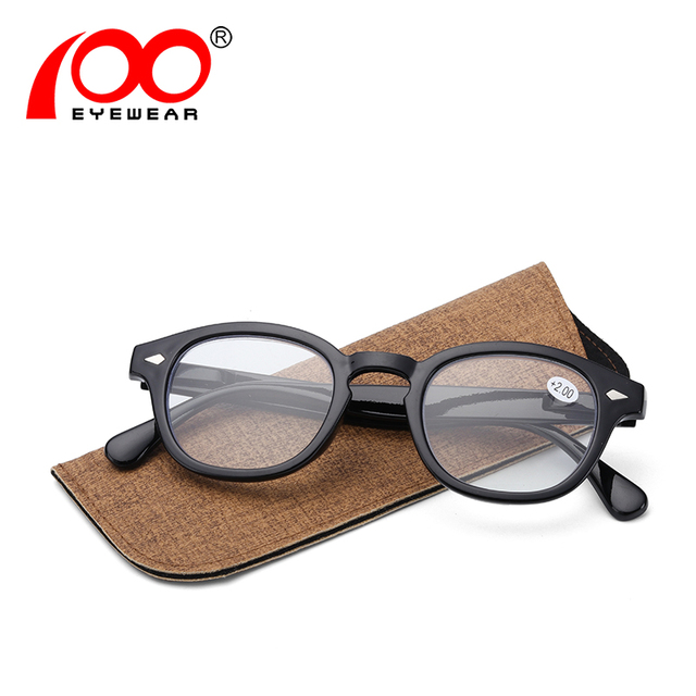 Men reading glasses Johnny Depp brand designer Anti blue light vision glasses #RD8200