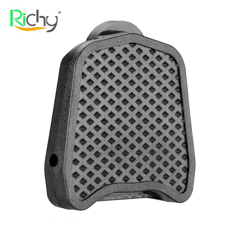 Adaptador de placa de Pedal de bloqueo de bicicleta de RICHY para SHIMANO LOOK Series Road Bike Placa de Pedal de Clip ultraligero de alta calidad 0
