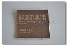 custom font b real b font font b leather b font labels for clothing denim pants