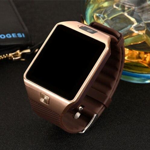 imágenes para DZ09 Reloj Inteligente Bluetooth dispositivos portátiles de Apoyo TF Tarjeta SIM Smartwatch para apple OS Android Reloj Inteligente PK gt08 A1 W8 DZ11