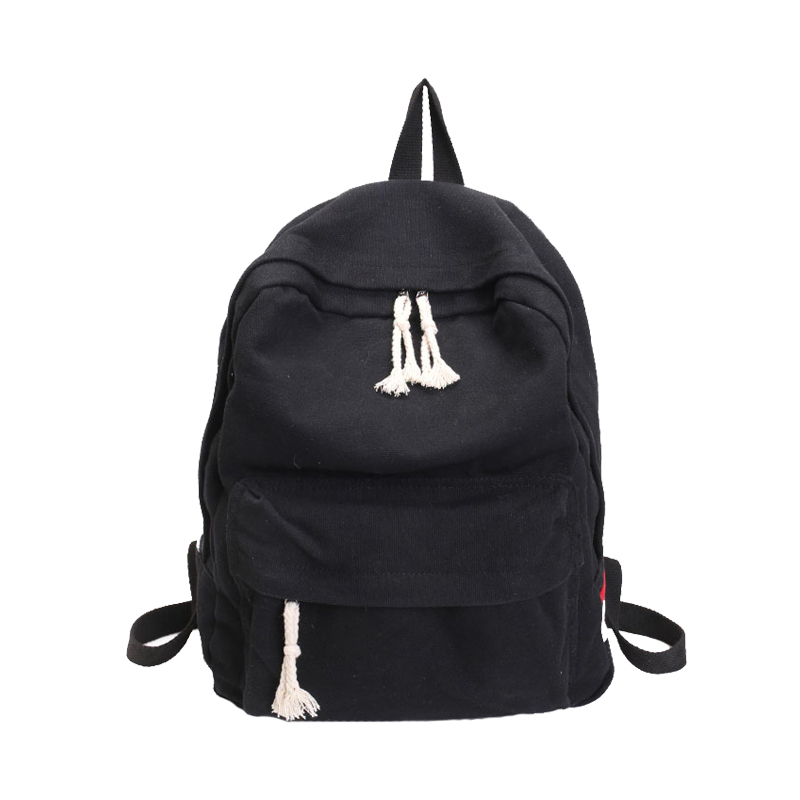 Brand Canvas Men Women Backpack College High Middle School Bags For Teenager Boy Girls Laptop Travel Backpacks Mochila Runbxq122