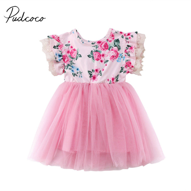 2e6405125 2018 Brand New Toddler Infant Child Baby Girls Kids Lace Floral ...