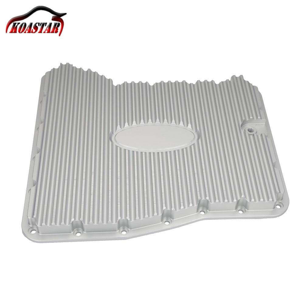 Di Alluminio di CNC Olio Motore Pan Billet Alettato Trasmissione Coppa Dell'olio Pan Nero Argento Per 09 ~ 18 GTR R35 VR38DETT VR38