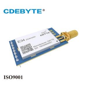 Image 3 - E34 2G4H20D תדר מקפץ UART nRF24L01P 2.4Ghz 100mW SMA אנטנה IoT uhf אלחוטי משדר nRF24L01 + PA 2.4g rf מודול