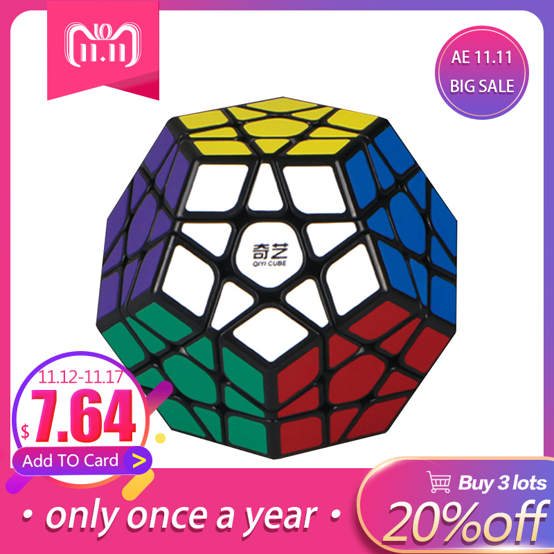 LeadingStar 3rd order Megaminx Magic Cube Stickerless Dodecahedron Speed Cubes Brain Teaser Twist Puzzle Toy zk40 6x6x6 megaminx brain teaser magic cube speed cube twisty puzzle toy
