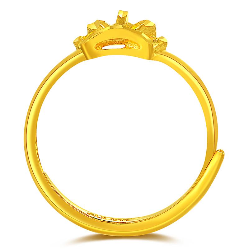 تصميم خاتم ذهب للفتاة بدون حجر