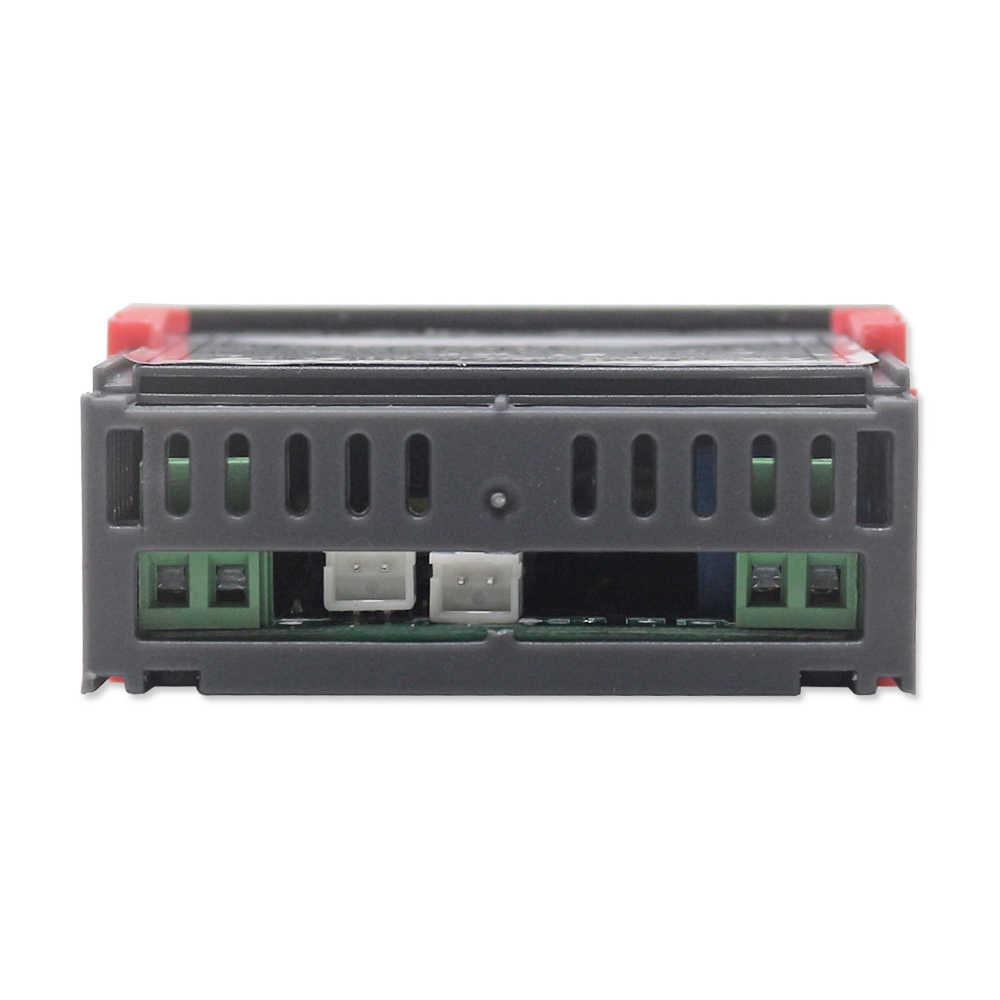 STC-3018 110 v 220 vデジタル温度コントローラc/fインキュベーターサーモスタット 10A/240 vリレー出力温度調節加熱冷却
