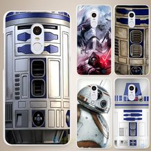 Star wars R2D2 Hard White Cell Phone Case Cover for Xiaomi Mi Redmi Note 4 Pro 4A 4C 4X 5X 5 6