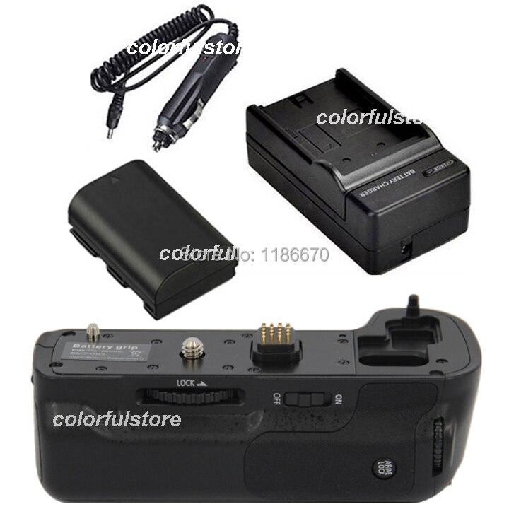 Battery Handle Hand Grip Holder Vertical Shutter for Panasonic Lumix DMC-GH3 GH3 GH4 Camera as BGGH3+1 x DMW-BLF19E+ Car Charger battery 2 pack charger for panasonic dmw blh7 dmw blh7e dmw blh7 blh7e and lumix dmc gm1 gm5 gf7 dm cgm7 digital camera
