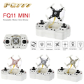 FQ777-FQ11 2.4G 4CH 6 Axis Gyro Mini Drones RC Quadcopter with Foldable Arm 3D Flips Headless Mode RTF without Camera VS CX-10W