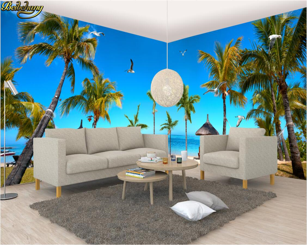 Beibehang Custom Photo Wall Mural 3d Wallpaper Luxury: Beibehang Custom Large Mural Wallpaper 3D Fresh Nature Sea