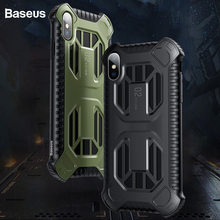 Baseus Armor Case For iPhone Xs Max Xr Xs Capinhas Anti-knoc
