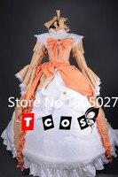 Аниме Мику VOCALOID Kagamine Rin дворец Лолита платье Косплэй единые Hallowmas Костюмы Любой Размер Новый