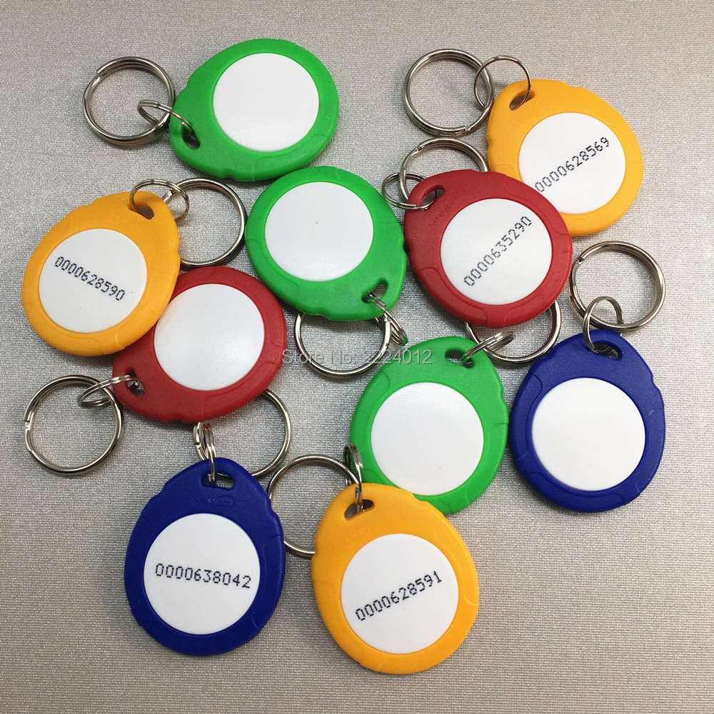 RFID 125khz Promixity ID Tag High Quality TK4100 Chip ( Read Only ) For  Door Access Control System 10PCS/PACK