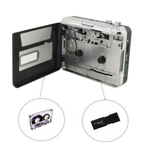 Image 5 - Draagbare Cassette Speler Recorder Standalone Audio Muziek Recorder Cassette Naar MP3 Converter Bespaar In Usb Flash Drive