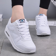 MWY Fashion Plus Size Air Cushion Shoes Ladies Platform Shoes Sneakers