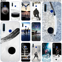 Hot Hockey Su Ghiaccio Molle Del Silicone Cassa Del Telefono per Huawei Honor 20 20i 10 9 8 Lite 8X 8C 8A 8 S 7 S 7A Pro Vista 20 di Modo Della Copertura
