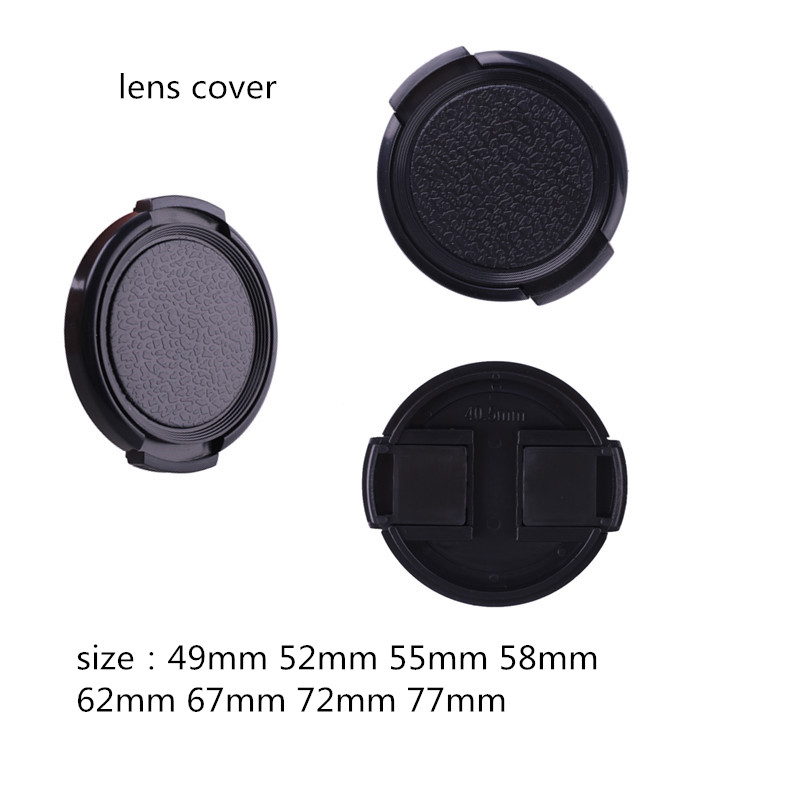 Camera <font><b>Lens</b></font> <font><b>Cap</b></font> Centechia Anti-lost 49 52 55 <font><b>58</b></font> 62 67 72 77 <font><b>mm</b></font> Protection Cover <font><b>Lens</b></font> for Canon Nikon camera <font><b>Lens</b></font> image