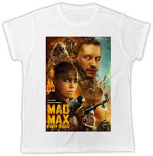 MAD MAX FURY ROAD POSTER COOL RETRO POSTER IDEAL GIFT DESIGNER COOL MENS TSHIRT(China)