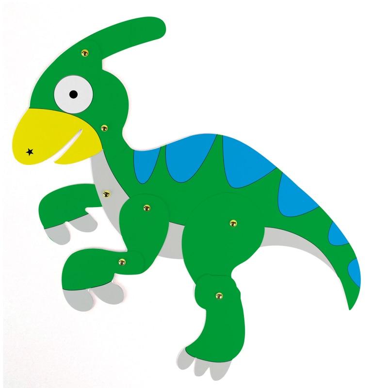 Draw Kids Craft DIY Dinosaur Cardboard Painting Decoration Children ...
