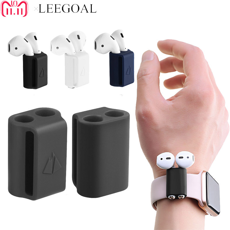 Anti lost Silicone Holder for AirPods Case Holder Portable