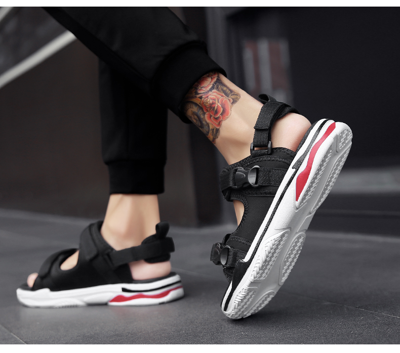 Man Beach Sandals Summer Gladiator Men's Outdoor Shoes Roman Men Casual Shoe Light Flip Flops Slippers Fashion Sandals Casuals 19
