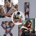 ネックショルダーカメラデジタル一眼レフベルトバッグケースフラワーローズスカーフストラップ用富士オリンパスキヤノンニコンソニーa7 a7r ii ILCE-6000 A6300 rx1r