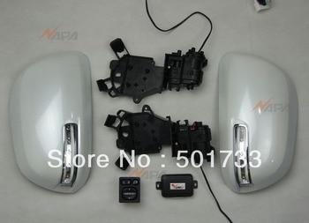 Highlander Automatic Folding Mirror with Power Folding Switch, Folding Motor, LED Turn Signal, Auto Control Box, Luxury upgrade