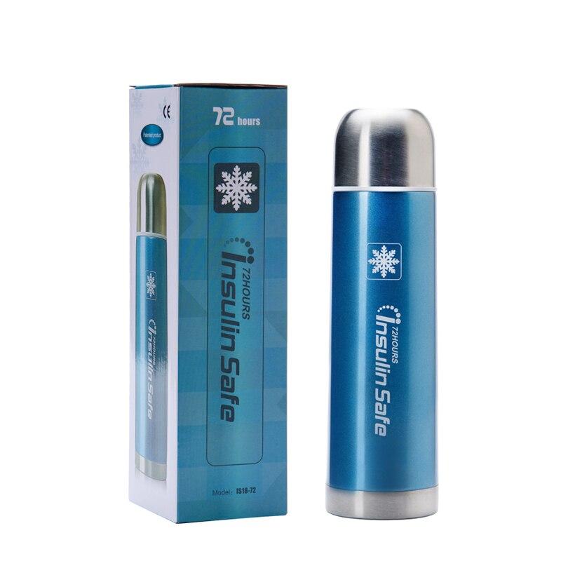 Neue 72 oder 36 stunden Insuline Kühltasche Box Glaskolben Insuline Tragbare Mini Kühlschrank Insuline Stift Kühlbox Diabetes Tasche