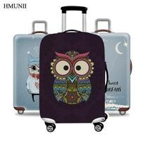 HMUNII новый модный бренд путешествия утолщенный Эластичный Чемодан чемодан защитный чехол, применяются к 18-32 дюймов Чехлы, дорожные аксессуа...