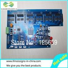 6th carriage board optical fiber