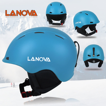 Lanova Ski Helmet Integrally-molded Men Women Snowboard Skating Skateboard Skiing Helmet