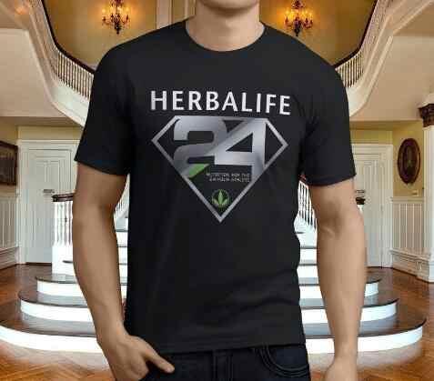 Herbalife Nutrición Logo Unisex Negro Camiseta
