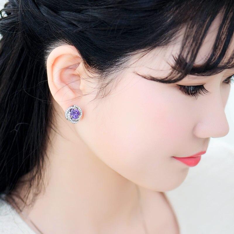 Vrouwen bruiloft Mu Xia nieuwe oor sieraden crystal oorbellen vrouwelijke sterren OL wind 100 Korea verjaardagscadeau sieraden ornamenten collocati - 5