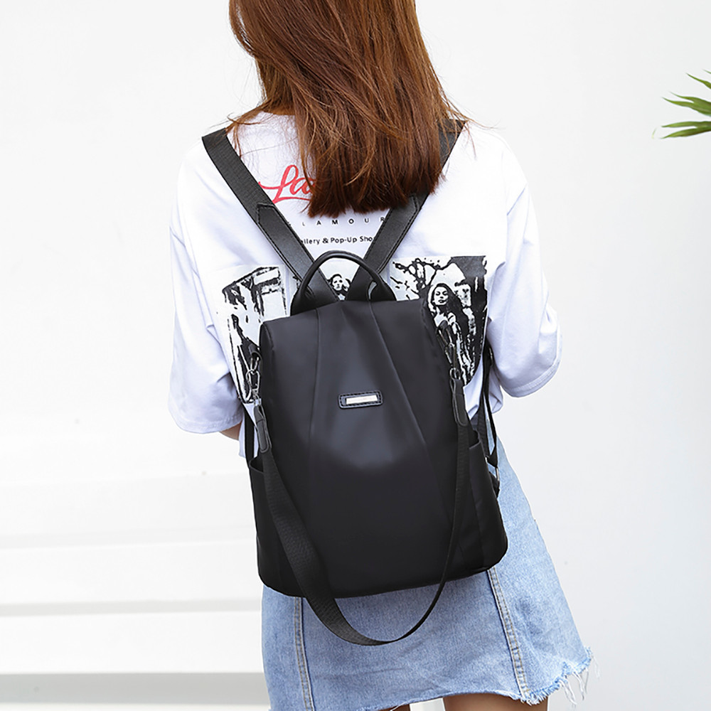 2019 New Anti-thief Fashion Women  Backpack Multifunctional Waterproof Travel Backpack Larger Capacity Schoolbag сумка TL