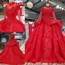 0993 Evening Dress Long Sleeve Ball Gown Evening Dresses