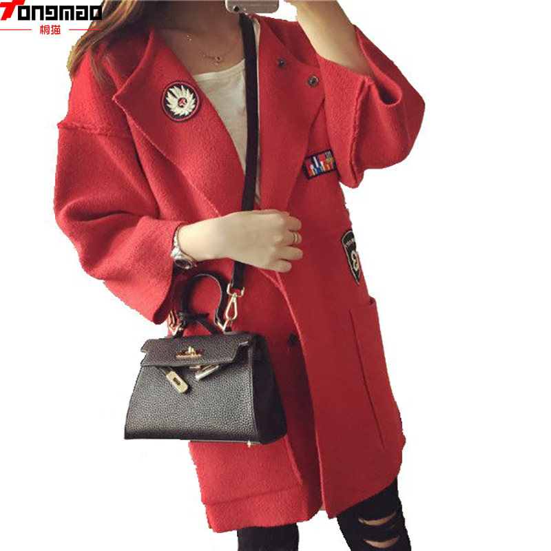 New Autumn Spring Women Sweater Cardigans Casual Warm Long Design Female Coat Cardigan Sweater Lady Wild Solid Dark Button