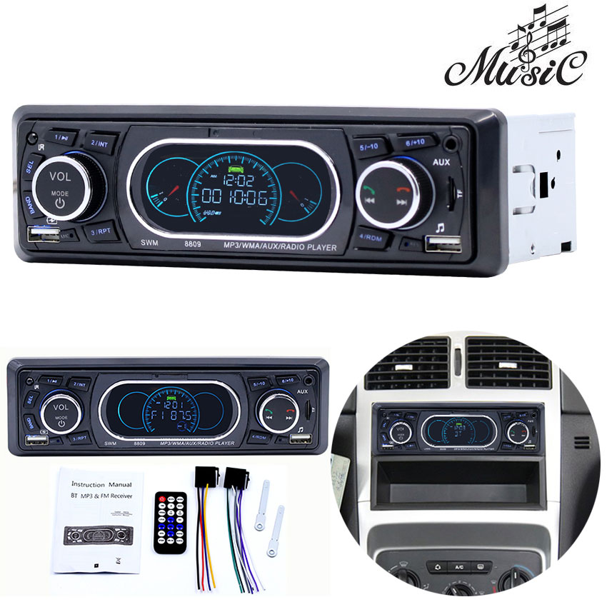 Multifunction MP3 Player FM Modulator Car Bluetooth Handfree Support U Disk Card Machine Transmitter MP3 Player