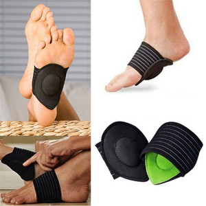 1 Pair Orthopedic Adjuster Arch Support Orthotic Insole Flat Foot Flatfoot Corrector Pedicure Insoles Cushion Pad Foot Care(China)