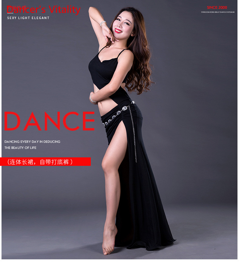 Sexy Wholesale Cotton Belly Dance Clothes Comfortable Sleeveless Belly Dance Dress For Women Belly Dance Dress Dance Clothes
