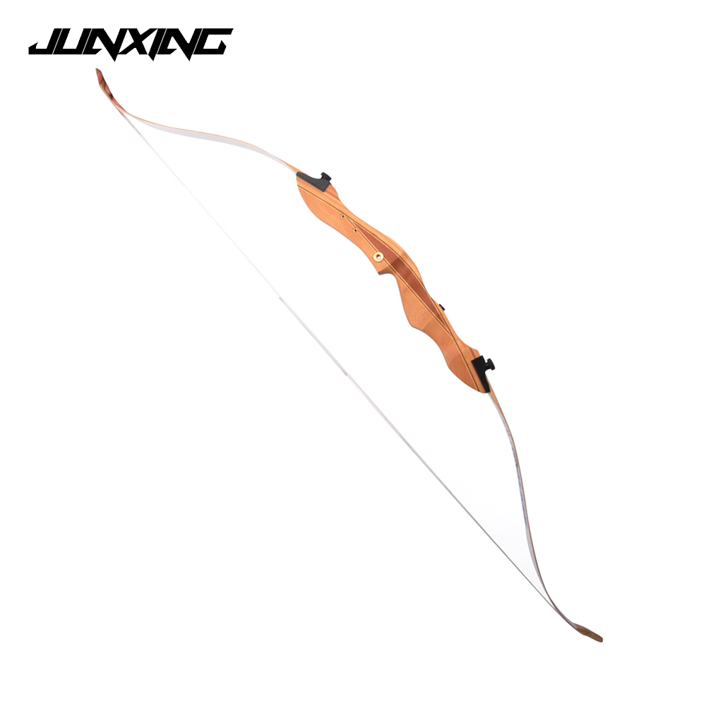 New 10-20 LBS Children Recurve Bow Length 54 Inches with Wooden Handle for Children Practice Outdoor Archery Hunting Shooting 10 20lbs 54 inches recurve bow for children training games archery hunting shooting practice