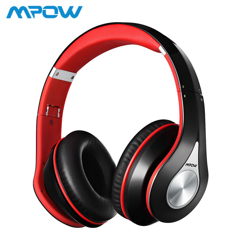 Mpow Best 059 Headphones Wireless Bluetooth 4 0 Headphone Built in Mic Soft Earmuffs Noise Cancelling