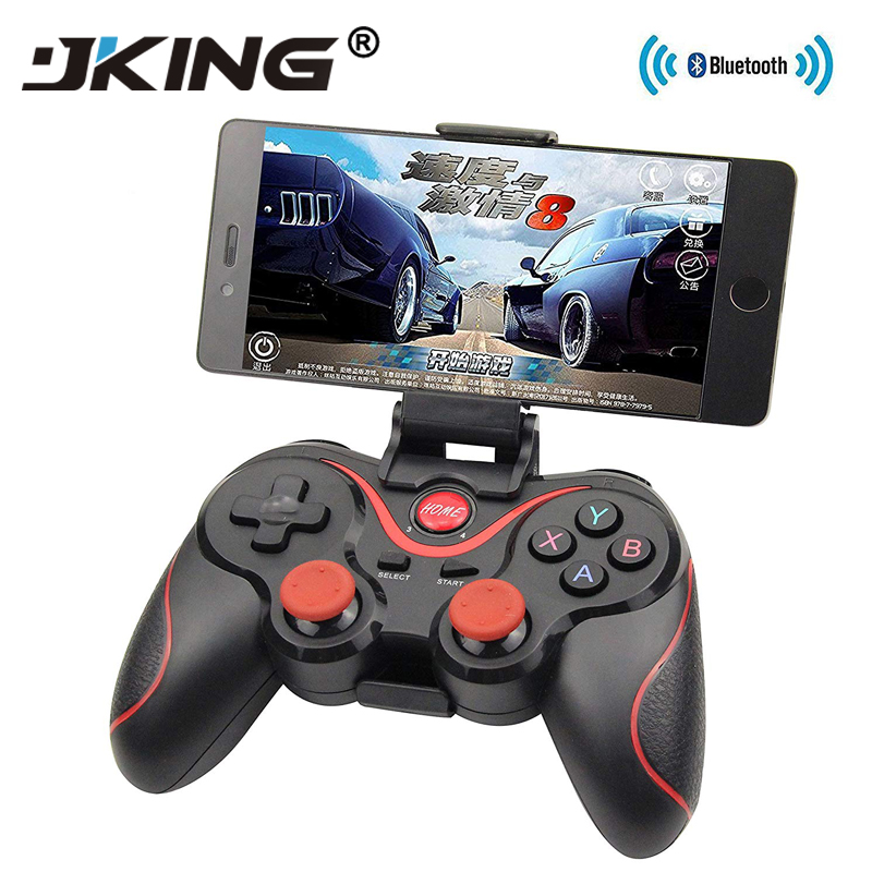 JKING T3 Bluetooth <font><b>Wireless</b></font> Gamepad S600 STB S3VR Game <font><b>Controller</b></font> Joystick For Android IOS Mobile Phones <font><b>PC</b></font> Game Handle image