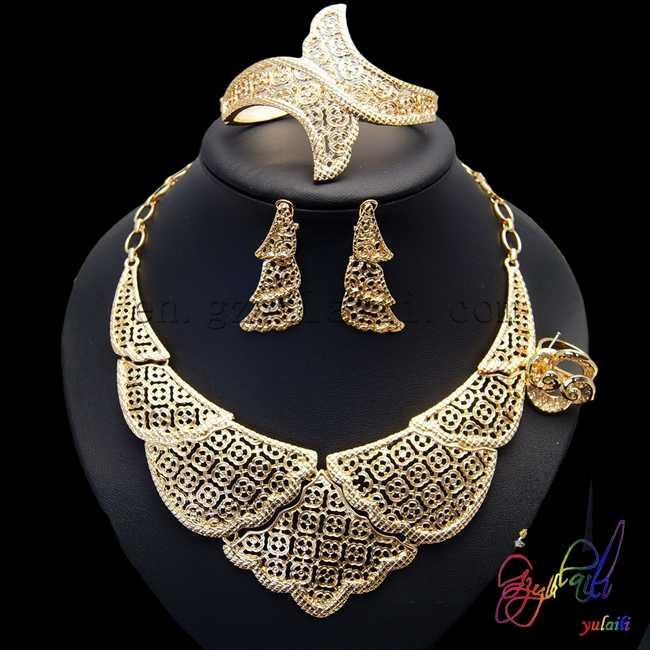 Free Shipping Pakistani Bridal Jewelry Sets 2017 Promotional
