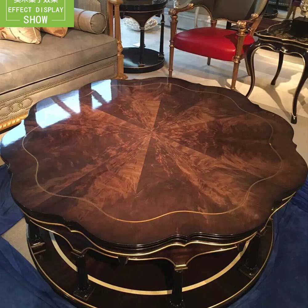 Solid Furniture Film Transparent Paint Coffee Table Marble