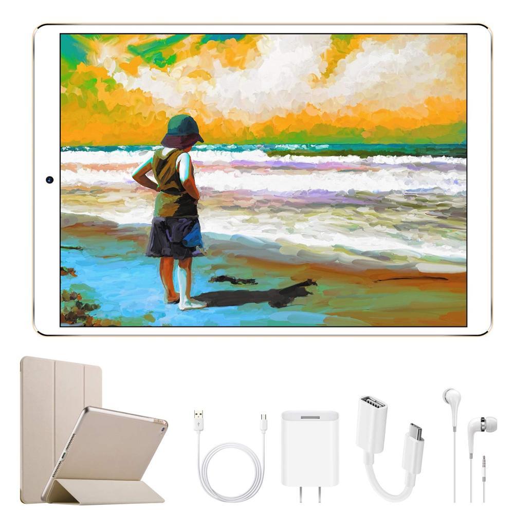 "DUODUOGO G12 Call Tablet Mobile Phone Android 7.0 10.1"" HD Screen 2GB RAM 32GB ROM Dual Sim 8500mah 3G Quad Core Smartphone"